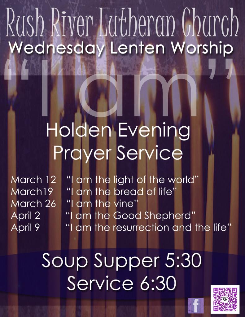 Rush River Lutheran - Lenten Service