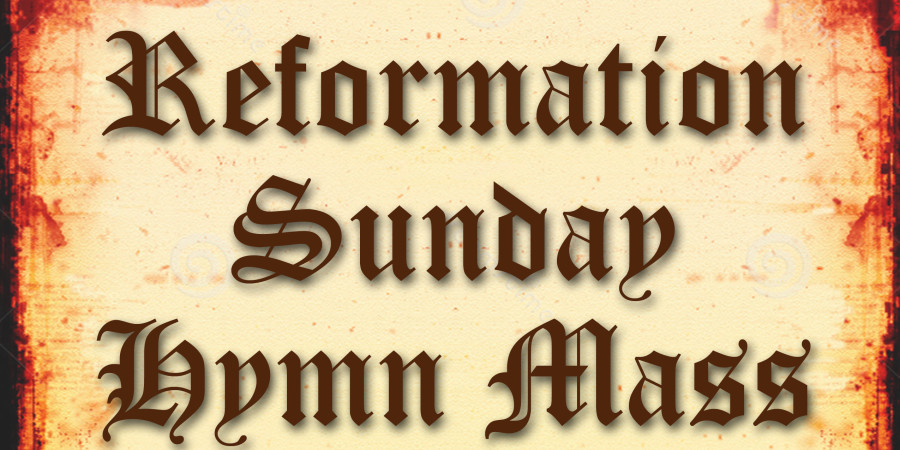 Reformation Sunday blog copy