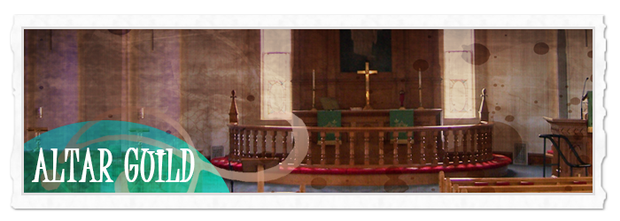 Altar Guild Header